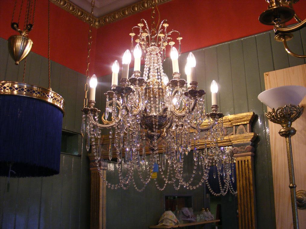 and chandeliers restoration